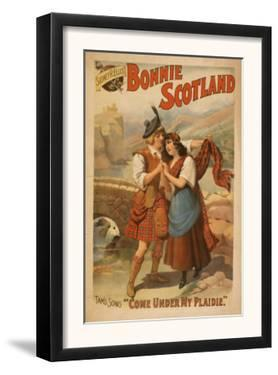 Sidney R. Ellis' Bonnie Scotland Scottish Play Poster No.2 by Lantern Press