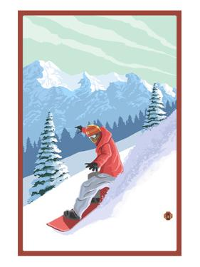 Snowboarder by Lantern Press