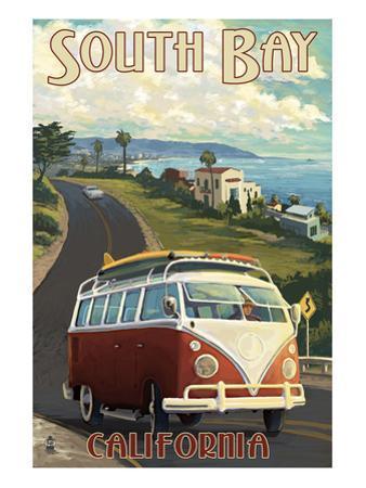South Bay, California - VW Van Cruise