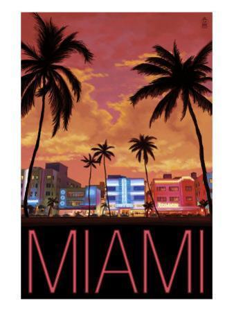 South Beach Miami, Florida, c.2008 by Lantern Press