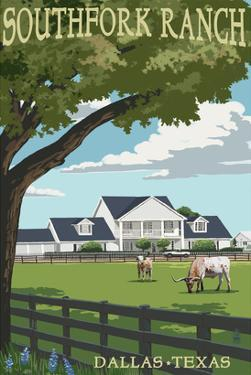 Southfork Ranch - Dallas, Texas by Lantern Press