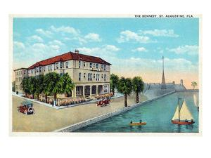 St. Augustine, Florida - Exterior View of the Bennett by Lantern Press