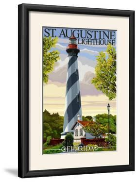 St. Augustine, Florida Lighthouse by Lantern Press
