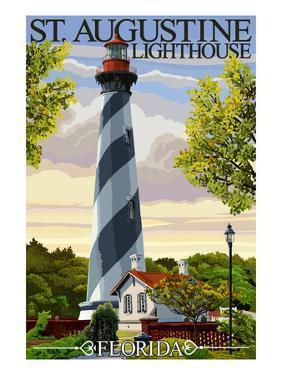 St. Augustine, Florida Lighthouse by Lantern Press