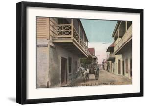 St. Augustine, Florida - View of Charlotte St. by Lantern Press