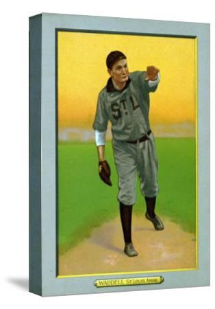 St. Louis, MO, St. Louis Browns, Rube Waddell, Baseball Card by Lantern Press