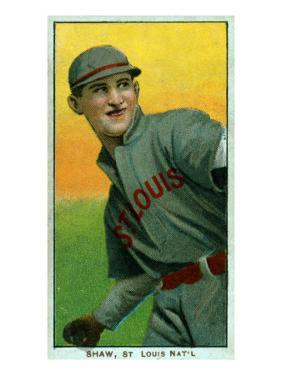 St. Louis, MO, St. Louis Cardinals, Al Shaw, Baseball Card by Lantern Press