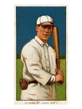 St. Louis, MO, St. Louis Cardinals, Bill O'Hara, Baseball Card by Lantern Press