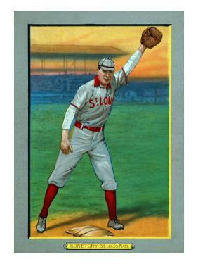St. Louis, MO, St. Louis Cardinals, Ed Konetchy, Baseball Card by Lantern Press