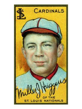 St. Louis, MO, St. Louis Cardinals, Miller Huggins, Baseball Card by Lantern Press