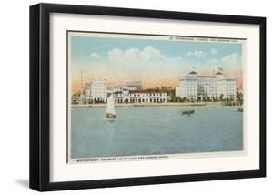 St. Petersburg, FL - Waterfront View of Soreno Hotel by Lantern Press