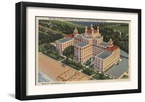 St. Petersburg, Florida - Aerial of Don Ce-Sar Hotel by Lantern Press