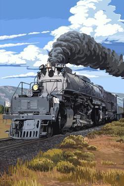 Steam Locomotive by Lantern Press