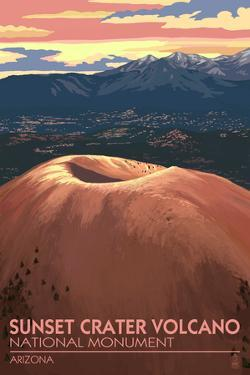 Sunset Crater Volcano National Monument, Arizona by Lantern Press