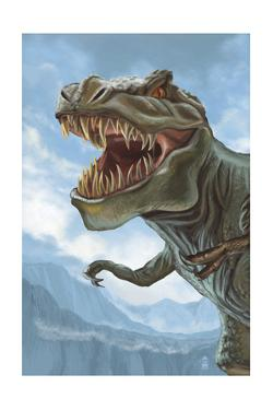 T Rex Dinosaur by Lantern Press