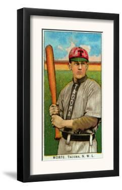 Tacoma, WA, Tacoma Northwestern League, Morse, Baseball Card by Lantern Press