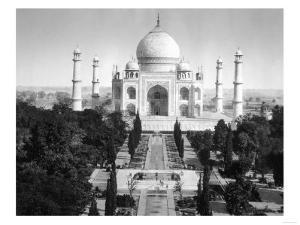 Taj Mahal in Agra, India Photograph - Agra, India by Lantern Press