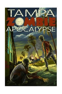 Tampa, Florida - Zombie Apocalypse by Lantern Press