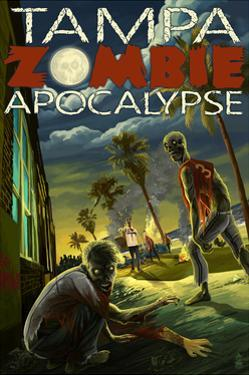 Tampa, Florida - Zombie Apocalypse by Lantern Press