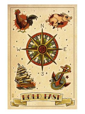 Tattoo Flash Sheet - Sailors by Lantern Press