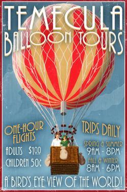 Temecula, California - Balloon Tours by Lantern Press