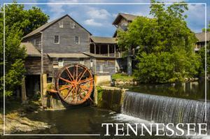 Tennessee - Mill by Lantern Press