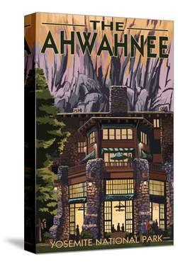 The Ahwahnee - Yosemite National Park - California by Lantern Press