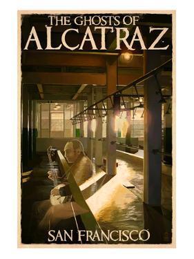 The Ghosts of Alcatraz Island - San Francisco, CA by Lantern Press