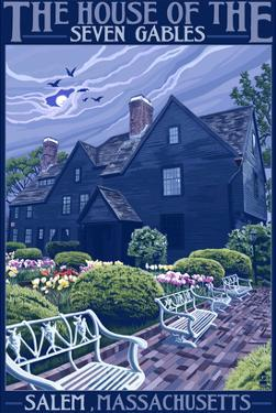 The House of the Seven Gables - Salem, Massachusetts by Lantern Press