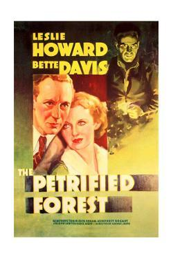The Petrified Forest - (#2) Vintage Movie Poster by Lantern Press