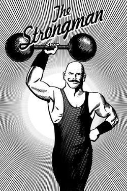 The Strongman by Lantern Press