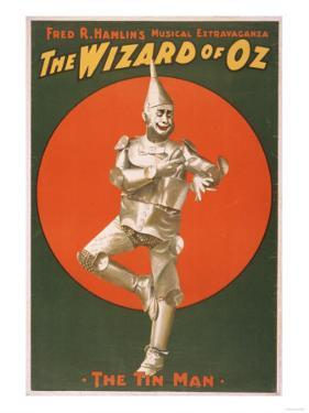 """The Wizard of Oz"" Musical Theatre Poster No.2 by Lantern Press"