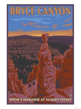 Thor's Hammer, Bryce Canyon, Utah by Lantern Press