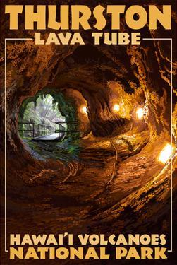 Thurston Lava Tube - Hawaii Volcanoes National Park by Lantern Press
