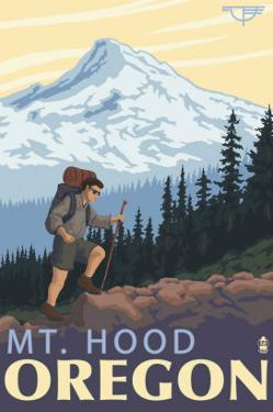 Timberline Lodge - Hiking Mt. Hood, Oregon, c.2009 by Lantern Press