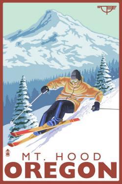 Timberline Lodge - Ski Mt. Hood, Oregon, c.2009 by Lantern Press
