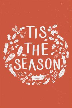 Tis the Season (Orange) by Lantern Press