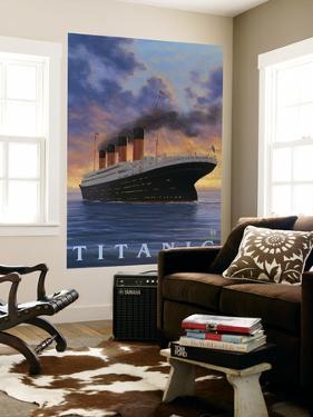 Titanic Scene - White Star Line by Lantern Press