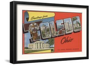 Toledo, Ohio - U.S. Naval Reserve Building by Lantern Press