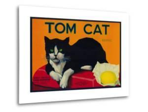 Tom Cat Lemon Label - Orosi, CA by Lantern Press