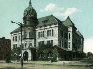 Topeka, Kansas - Exterior View of Rock Island Depot by Lantern Press