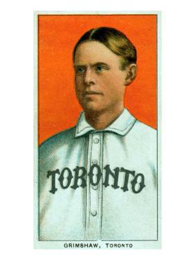 Toronto, Canada, Toronto Minor League, Moose Grimshaw, Baseball Card by Lantern Press