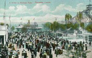 Toronto, Ontario - Hanlans Point Scene by Lantern Press