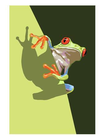 Tree Frog by Lantern Press