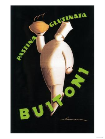 Tuscany, Italy - Buitoni Pasta Promotional Poster by Lantern Press