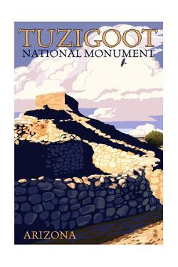 Tuzigoot National Monument - Arizona by Lantern Press