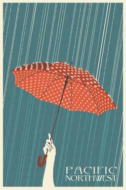 Umbrella - Pacific Northwest, WA by Lantern Press
