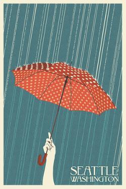 Umbrella - Seattle, WA by Lantern Press