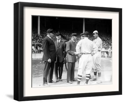 Umps and Managers, Giants and Red Sox World Series, Baseball Photo - New York, NY by Lantern Press