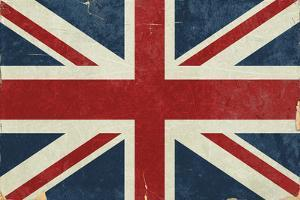 Union Jack - Distressed by Lantern Press